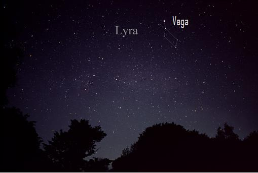 The constellation Lyra is very close to the bright star Vega in the night sky.