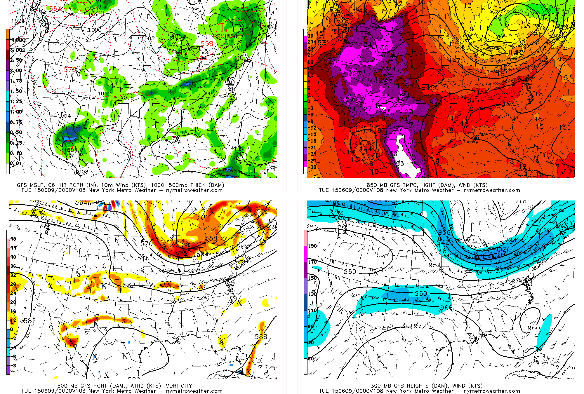 Today's GFS valid for Monday evening shows the ridge out west and to the south, with the trough diving into the Great Lakes with plenty of energy. However, the best energy appears to be lagging well to our west.