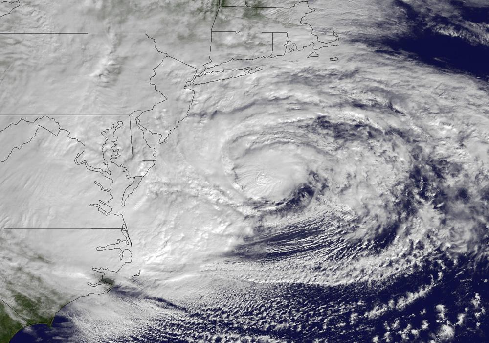 Hurricane Sandy Archive New York Metro Weather Nyc