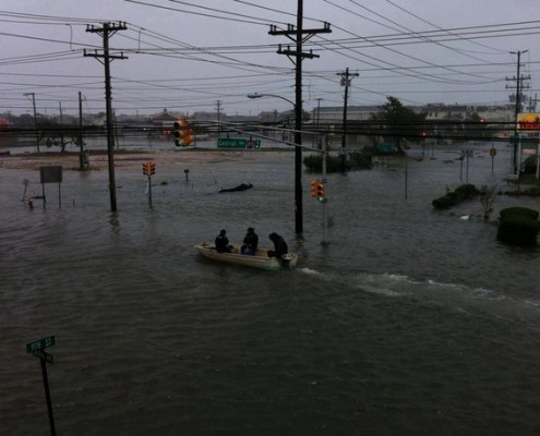 Flooding in New Jersey