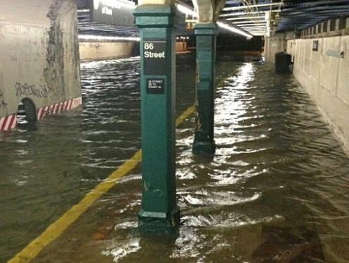 Flooding in NYC Subways