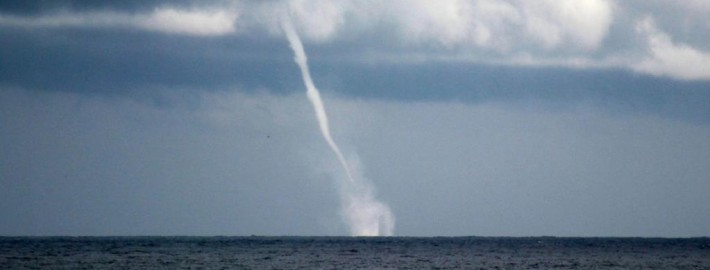 Waterspout off the coast of Belmar, NJ (JSHN)