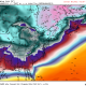 Today's GFS model is showing brutally cold Wind Chills early Thursday morning for much of the eastern half of the country (Weatherbell.com).
