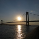 This weekend could have scenes such as this one at the Verrazano Bridge. (Doug Simonian)