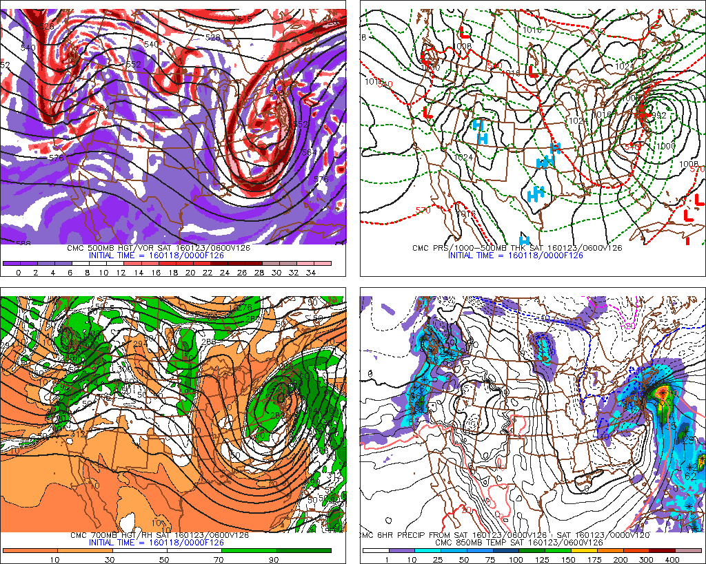 0z CMC models showing slower phase and track further off the Delmarva