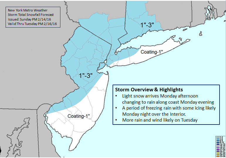 Snowfall map 021516 with text boxes