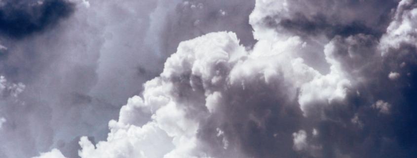 Clouds header.