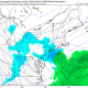 Today's 12z GFS valid for Monday shows a light snow event for the area (Tropical Tidbits).