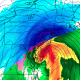The RGEM model showing very heavy snow, courtesy of Tropical Tidbits.