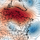 A large blocking pattern SW of Greenland may lead to continued unsettled weather next weekend (Tropical Tidbits).