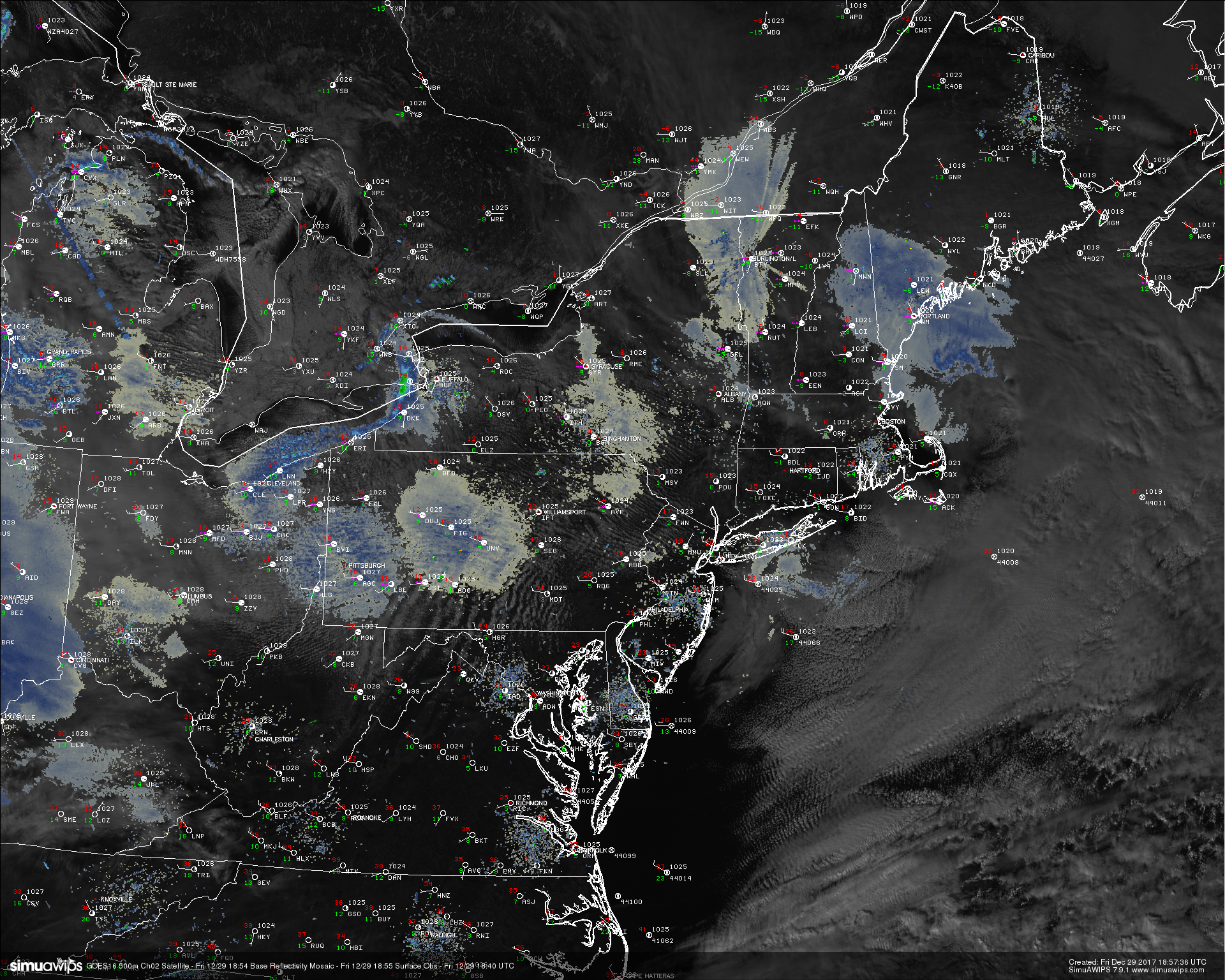 Arctic Cold Archives New York Metro Weather More Science Less - Northeast radar mosaic